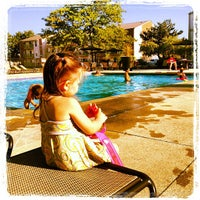 Photo taken at Colony Poolside by Nichole B. on 9/3/2012