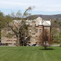 Photo taken at James B. Colgate Hall - Admissions Office by Matt H. on 4/17/2012