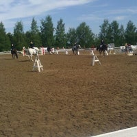 Photo taken at Salo Horse Show by Pekka V. on 6/16/2012