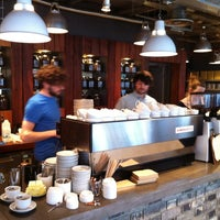 Photo taken at Small Batch Coffee Company by PJ P. on 3/13/2012