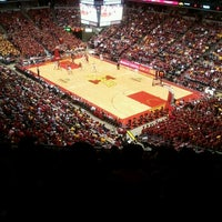 Photo taken at James H. Hilton Coliseum by Deb P. on 2/18/2012
