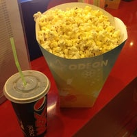 Photo taken at Odeon Πλατεία Cinemas by Danis M. on 8/25/2012