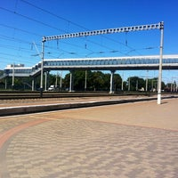 Photo taken at Poltava-Kyivska Railway Station by Юля М. on 7/24/2012