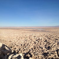Photo taken at Salar de Atacama by Federico A. on 4/22/2012