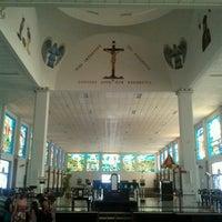 Photo taken at Santuário Basílica do Divino Pai Eterno by Julian M. on 6/10/2012