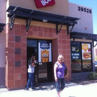 Photo taken at Jack in the Box by Kevin ace P. on 5/4/2012