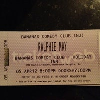 Photo taken at Banana's Comedy Club by Kathie S. on 4/5/2012