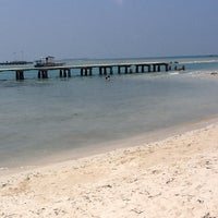Photo taken at Pulau Tidung by Putri S. on 8/20/2012
