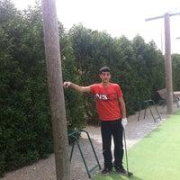 Photo taken at Campo de golf by Julian L. on 3/31/2012