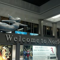 Photo taken at Norfolk International Airport (ORF) by Brittany A. on 8/4/2012