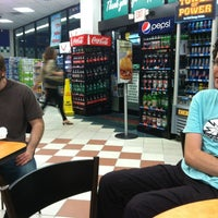 Photo taken at Hess Express by Andrew S. on 3/9/2012