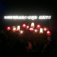 Снимок сделан в Underground Arts пользователем Paul B. 9/9/2012