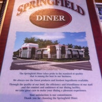 Photo taken at Springfield Diner by Sam K. on 5/11/2012