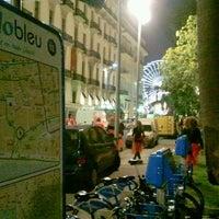 Photo taken at Vélo Bleu (Station No. 18) by Iarla B. on 2/18/2012