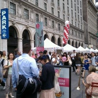 Photo taken at Taste of Times Square by Quoc Vuong on 6/11/2012