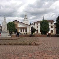 Photo taken at Parque Julio Florez by Guillermo E. on 9/1/2012