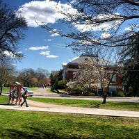 Photo taken at Hamilton Smith Hall by Jason B. on 4/13/2012