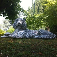 Photo taken at Villa Cortine Palace Hotel by Marina S. on 7/27/2012