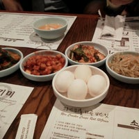 Photo taken at So Kong Dong Restaurant 소공동 순두부 by Kaz F. on 2/22/2012