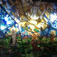 Photo taken at Capela da USJT by Mari A. on 2/28/2012