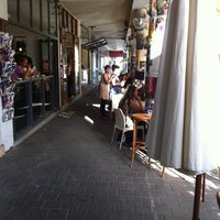 Photo taken at Cafe Tachtit by yaakov t. on 5/24/2012