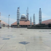 Photo taken at Masjid Agung Jawa Tengah (MAJT) by Nada N. on 8/24/2012