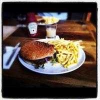 Photo taken at Café am Gollierplatz by Mario G. on 3/9/2012