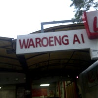 Photo taken at Waroeng Ai by dodik p. on 8/8/2012