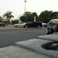 Photo taken at Phan Fa Lilat Bridge by Teelek L. on 3/29/2012