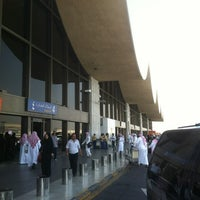Photo taken at King Abdulaziz International Airport (JED) by Raed S. on 5/14/2012