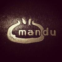 Photo taken at Mandu by Janie Y. on 9/8/2012