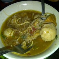 Photo taken at Bakso Simas by Dolly R. on 2/20/2012