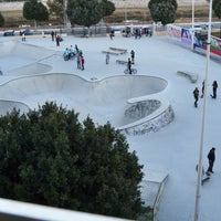 Photo taken at Skate Park Fuengirola by Adriana W. on 3/28/2012