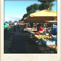 Photo taken at Marché de Basse-Indre by Pirmil S. on 7/8/2012