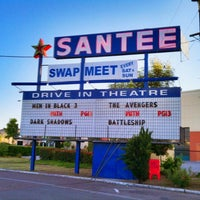 Photo taken at Santee Drive In Theater by Kevin S. on 5/27/2012