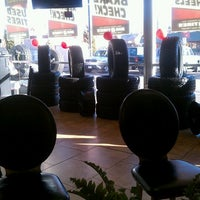 Photo taken at Big O Tires by SumGuy I. on 2/25/2012