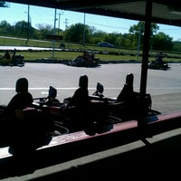 Photo taken at Rockwood Go-Karts by Annette A. on 3/24/2012