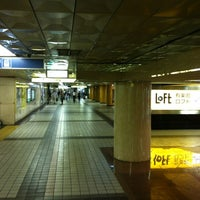 Photo taken at Ginza Station by Sho S. on 9/4/2012