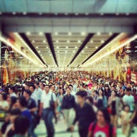 Photo taken at MTR Hong Kong Station by Chibie Z. on 7/23/2012