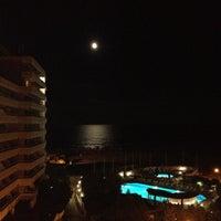 Photo taken at Plaja Savoy by Chris G. on 9/3/2012