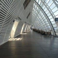 Photo taken at Avignon TGV Railway Station by Mark I. on 4/22/2012