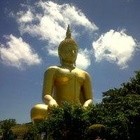 Photo taken at Wat Muang by NÜnii P. on 7/10/2012