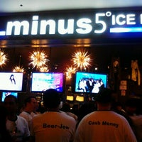 Photo taken at Minus5° Ice Lounge by Jacqueline M. on 2/18/2012