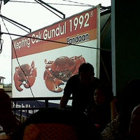 Photo taken at Kepiting Cak gundul 1992 by Nicko Y. on 8/23/2012
