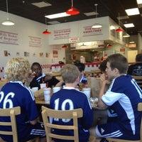 Photo taken at Five Guys by Robert G. on 4/15/2012