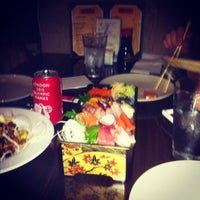 Photo taken at Marumi Sushi by Ming Z. on 8/20/2012