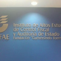 Photo taken at COFAE Instituto De Altos Estudios De Control Fiscal Y Auditoría De Estado by Emily ·. on 3/7/2012