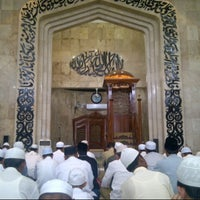 Photo taken at Masjid Raya Sabilal Muhtadin by Ryan P. on 8/3/2012