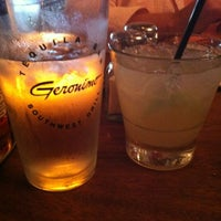 Photo taken at Geronimo Southwest Grill by Brad D. on 8/6/2012