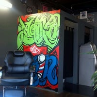 Photo taken at Against The Grain Barber Shop by ALLEYBOY760 on 6/16/2012